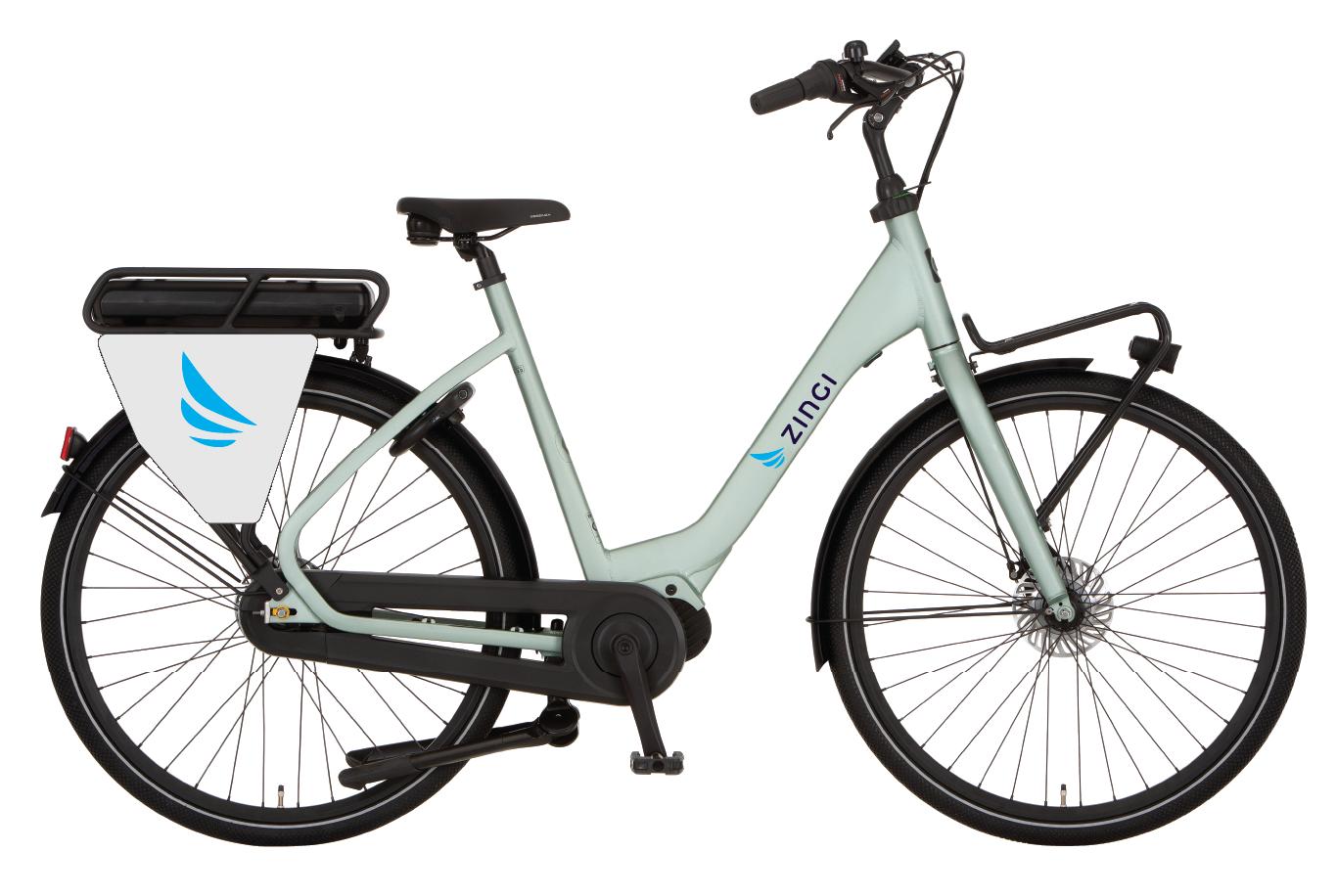 Zingi e-bike gedetoureerd